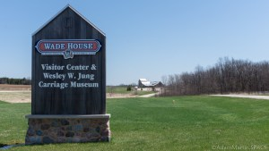 Old Wade House - Welcome sign