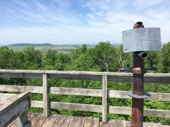 Belmont Mound State Park - Observation tower views