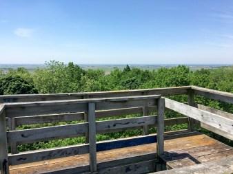 Belmont Mound State Park - Observation tower views