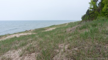 Kohler-Andrae State Park - Lake Michigan view on Woodland Dunes Nature Trail