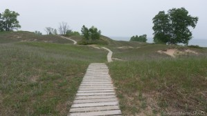Kohler-Andrae State Park - Rolling dunes at Cordwalk south section