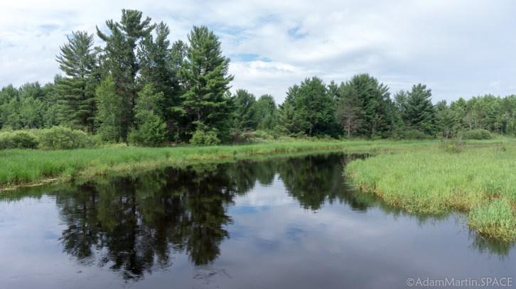 Cedar Falls - Peaceful upstream views