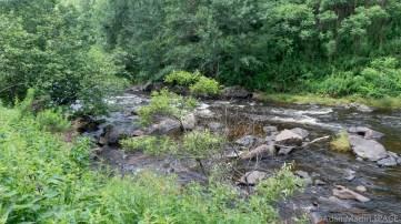 Rapids in the Prairie River