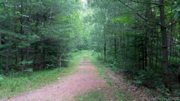 Prairie Dells Scenic Area forest trail