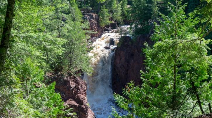 Copper Falls State Park - Brownstone Falls
