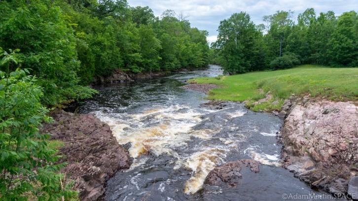 Kimball Falls - View looking downstream