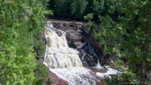 Saxon Falls - Upper main falls section