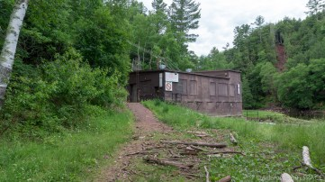 Superior Falls - Hiking around the hydro power house