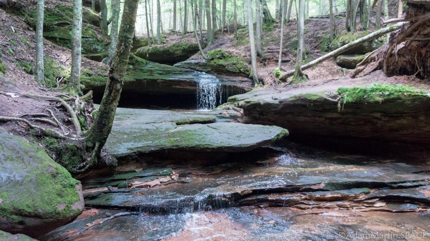 Echo Dells Falls - Upper falls
