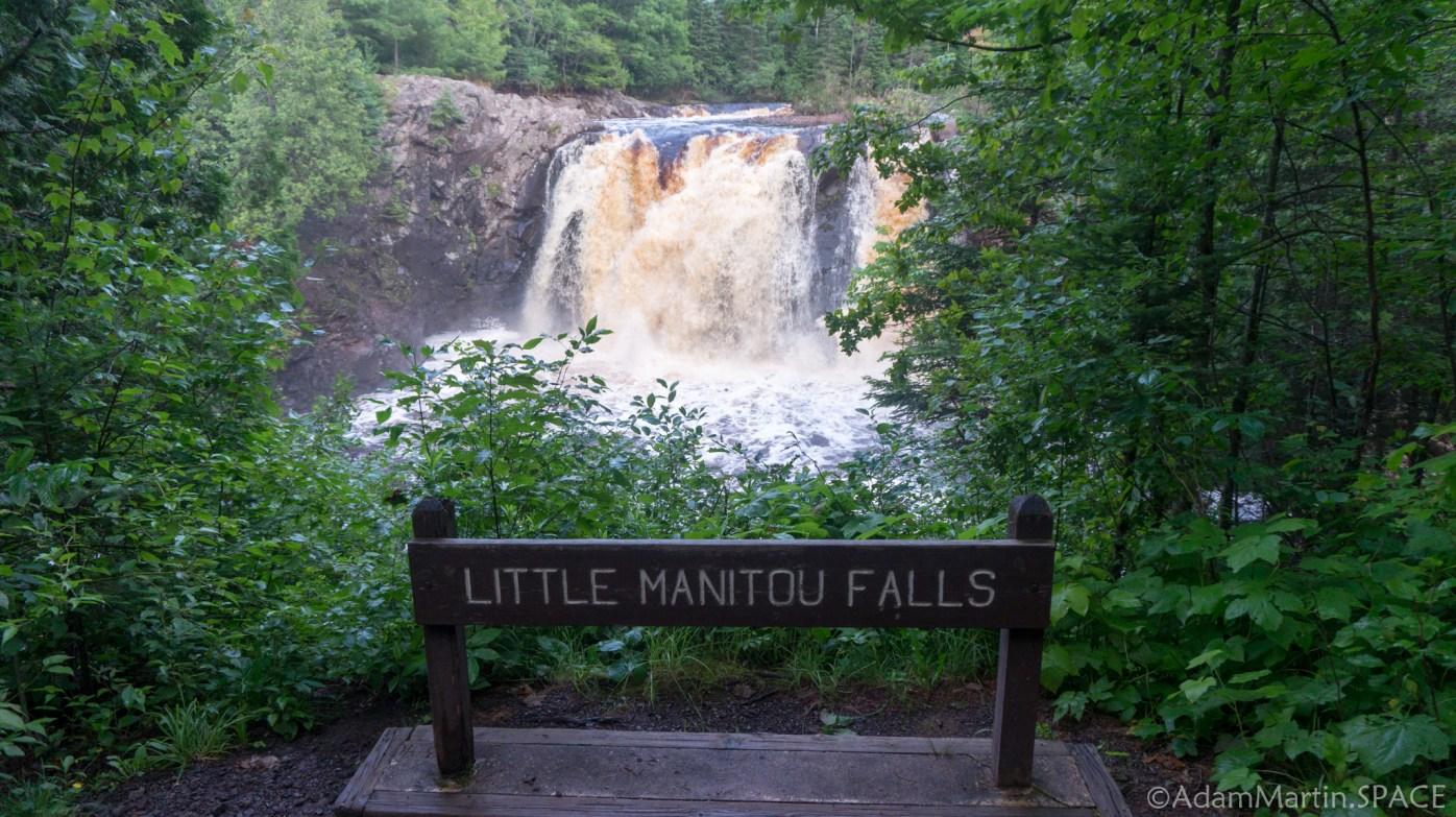 Pattison State Park - Little Manitou Falls
