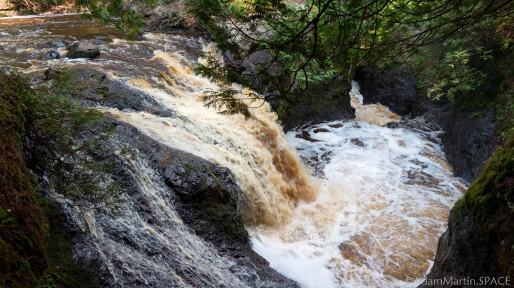 Amnicon Falls State Park - Snake Pit Falls