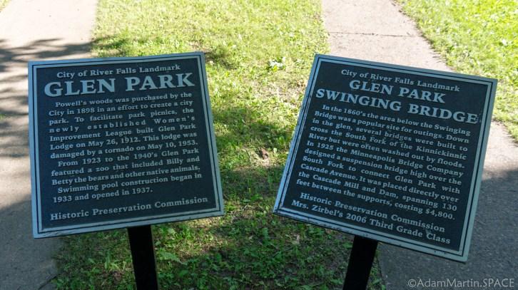 Glen Park historical sign