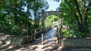 Glen Park suspension bridge