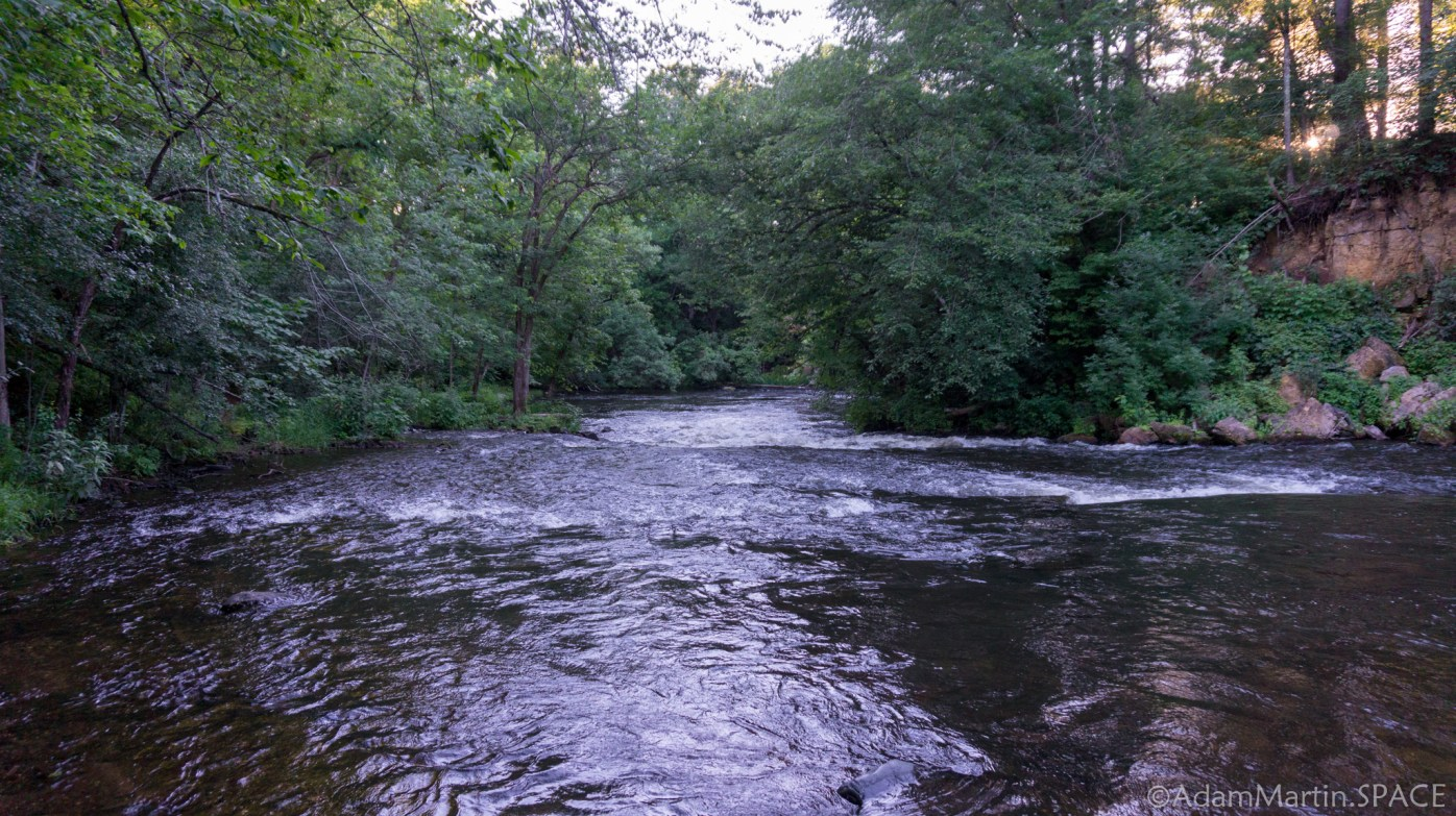 Apple River upstream from Pike Hole Rapids