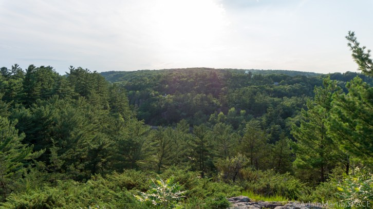 Interstate State Park - Horizon Rock Trail / Ice Age Trail segment