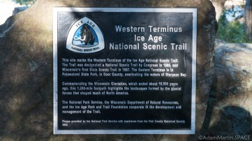 Interstate State Park - Ice Age Trail western terminus