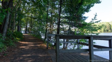 Council Grounds State Park - Handicap accessible fishing piers on Lake Alexander