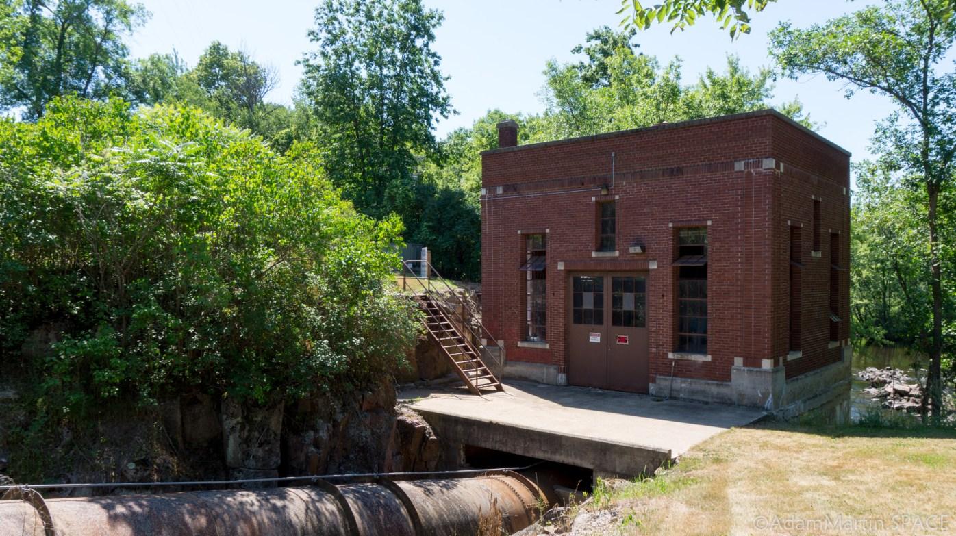 Big Falls - Hydroelectric house