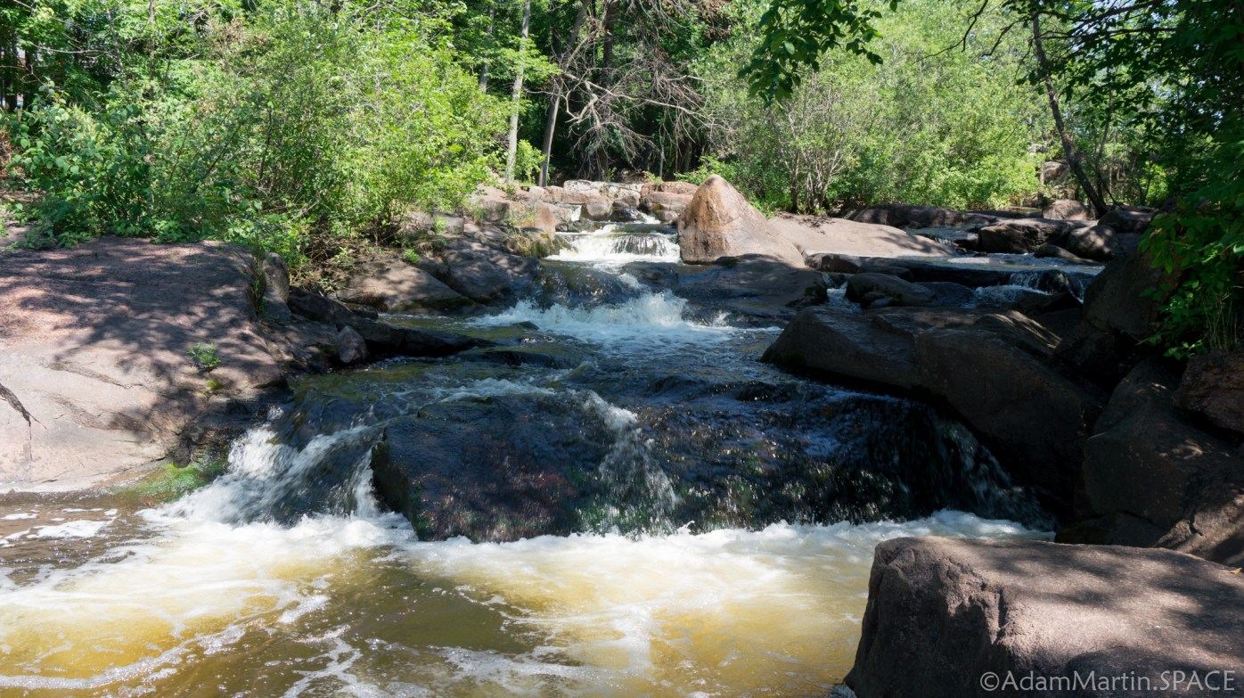 Big Falls - View from the bottom