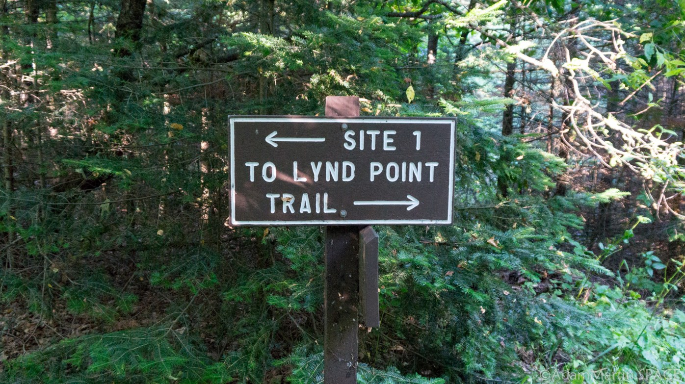 Newport State Park - Lynd Point Trail