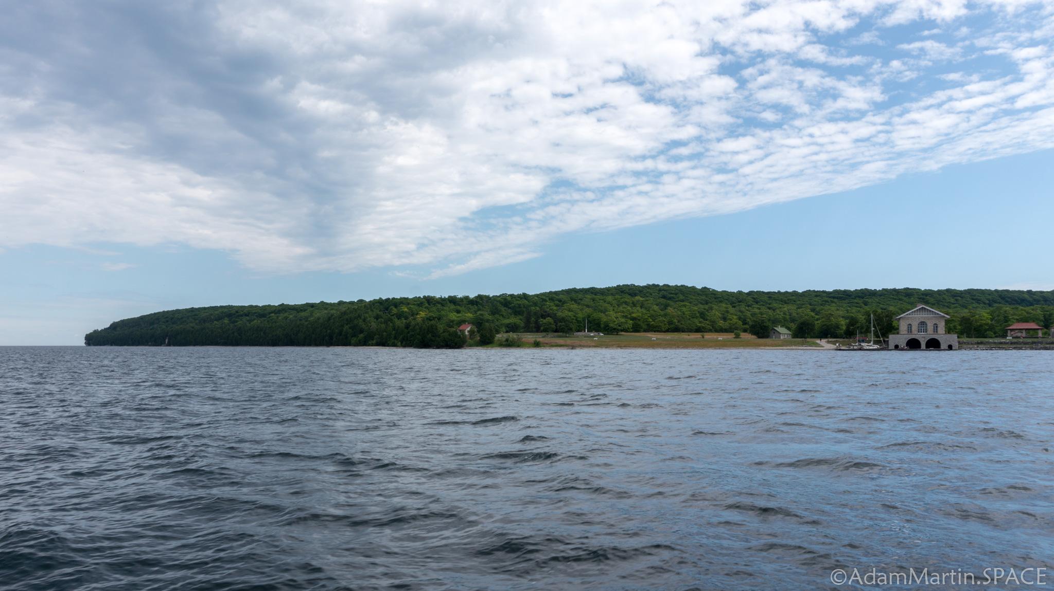 Rock Island State Park - Taking the Karfi ferry