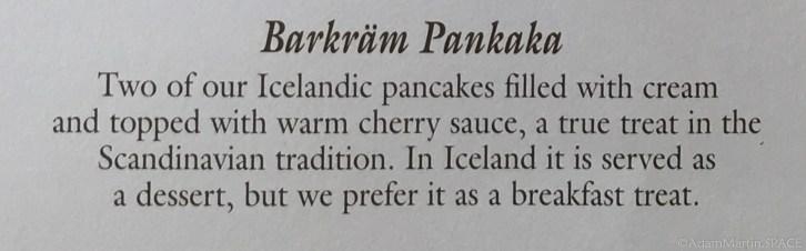 Washington Island - Barkräm Pankaka at Sunset Resort