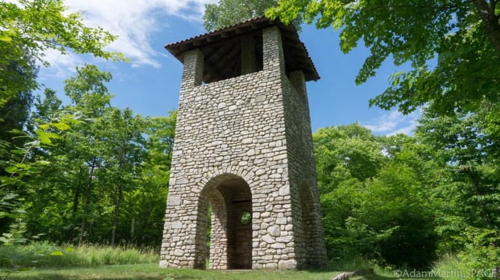 Rock Island State Park - Water tower