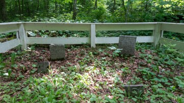 Rock Island State Park - Cemetery graves