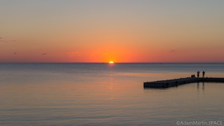 Rock Island State Park – Sunset from boathouse area