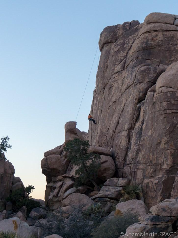 Joshua Tree - Hidden Valley Rock Climbers