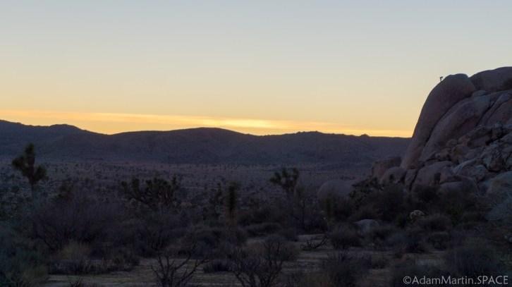 Joshua Tree - Hidden Valley Sunset