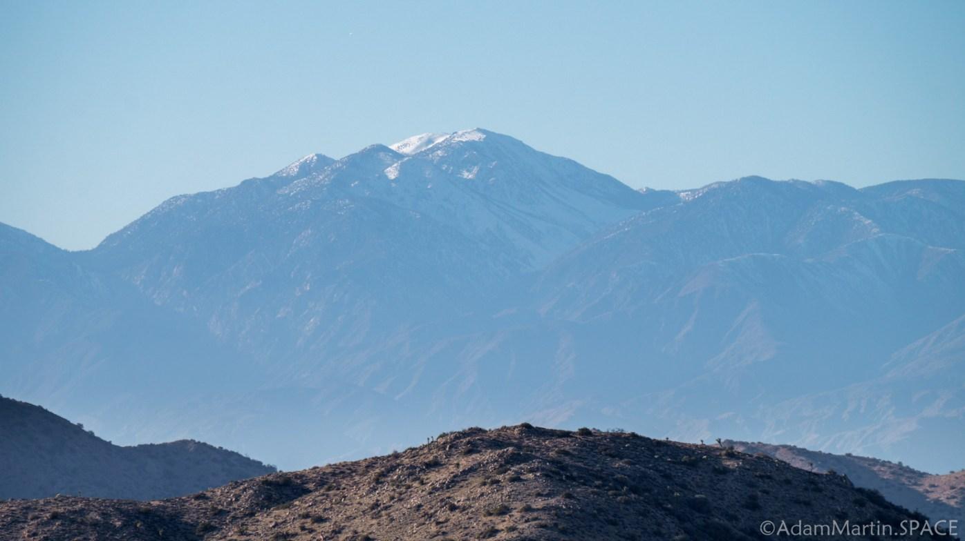 Joshua Tree - Mount San Jacinto from Keys View