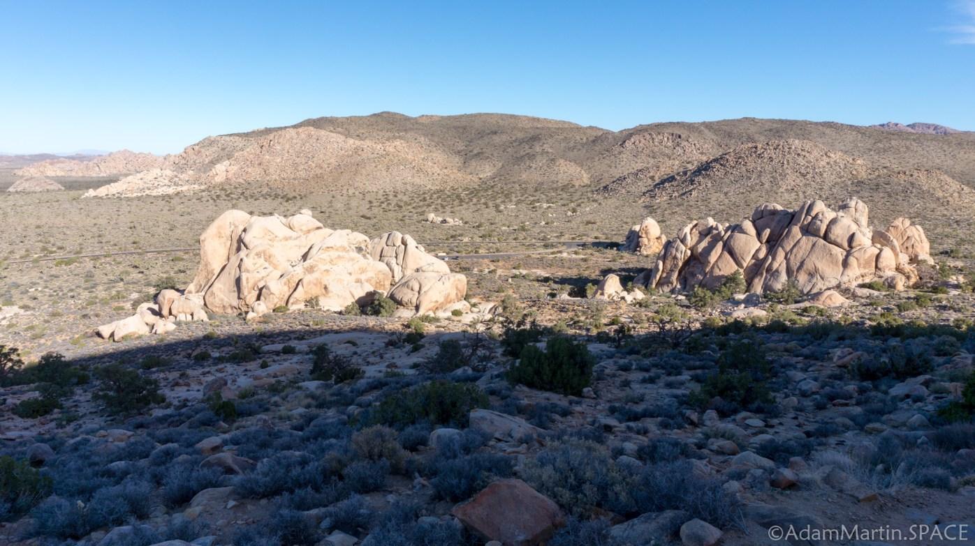 Joshua Tree - Views Along The Ryan Mountain Trail
