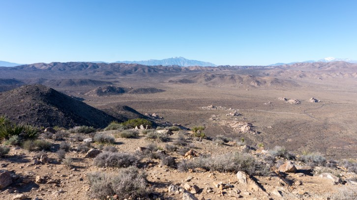 Joshua Tree - Views From Atop Ryan Mountain