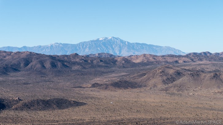 Joshua Tree - Views From Atop Ryan Mountain
