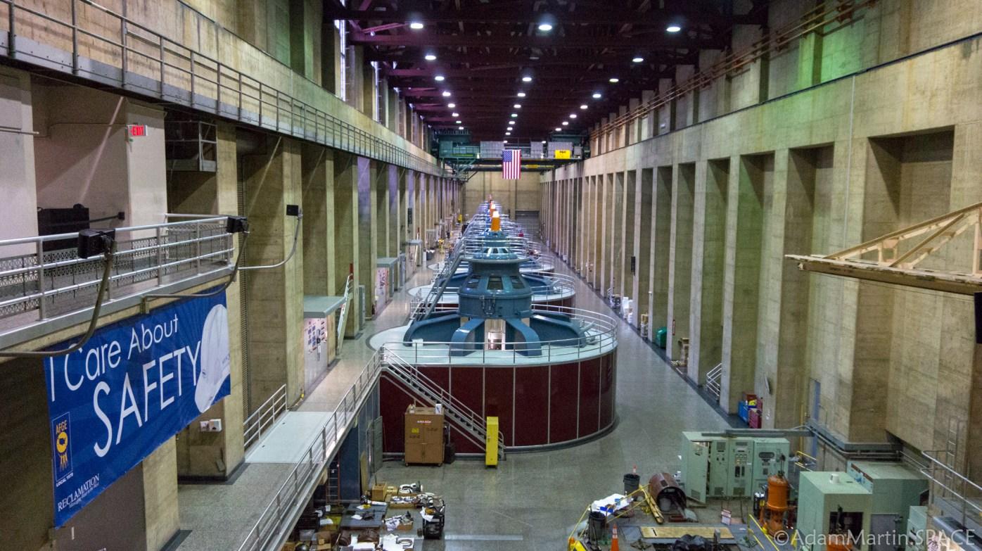 Hoover Dam - Powerplant Turbines