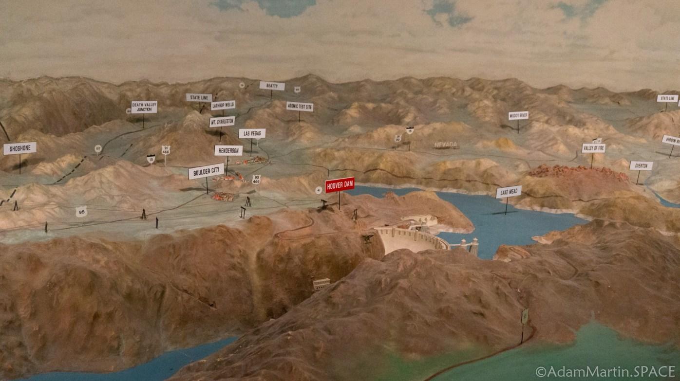Hoover Dam - Watershed Diorama