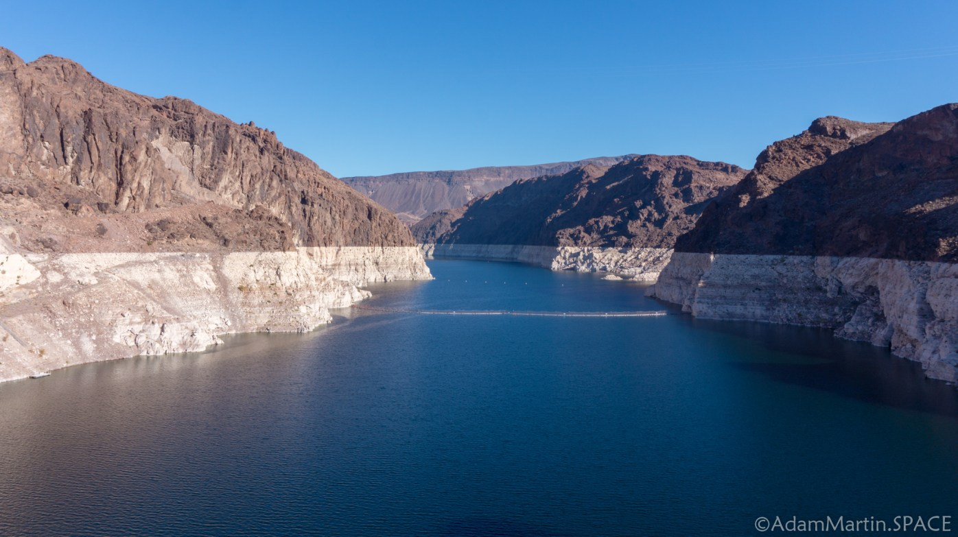 Hoover Dam - View of Lake Mead / Black Canyon