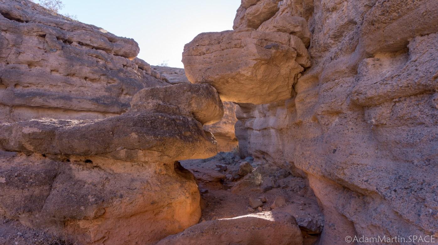 Lake Mead - Rocks on the Owl Canyon Trail