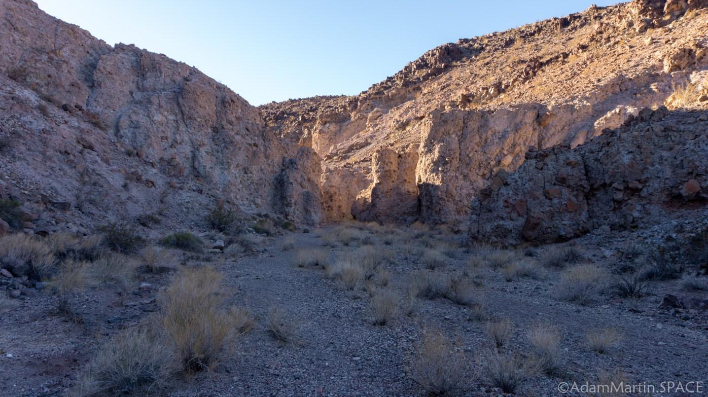 Lake Mead - Mountains Atop the Owl Canyon Trail