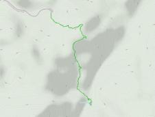 GaiaGPS hiking data @ Joshua Tree - Fortynine Palms Oasis