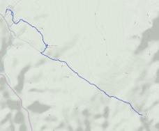 GaiaGPS hiking data @ Joshua Tree - Lost Palms Oasis Trail