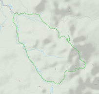 GaiaGPS hiking data @ Joshua Tree - Lost Horse Loop