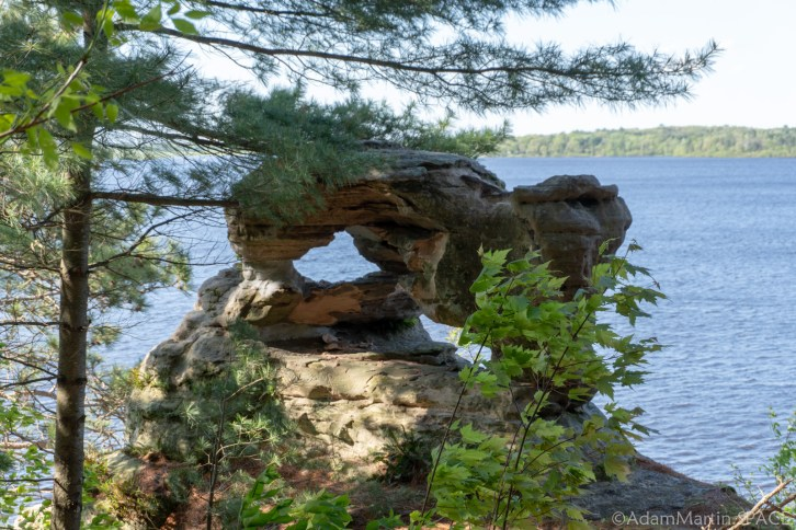 Dells of the Wisconsin River - Demons Anvil
