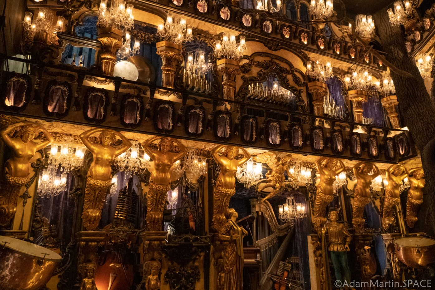 House On The Rock - Music of Yesterday - Blue Danube Waltz