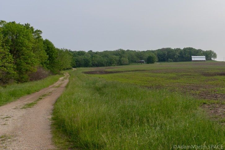 Charles Mound, IL - Hiking To The Highpoint