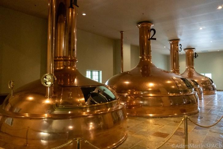 New Glarus Brewery - Copper Brew Kettles
