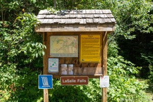 LaSalle Falls - Trail head signs