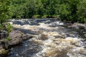 LaSalle Falls - Upstream view of falls/rapids