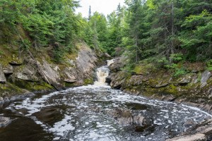 Spring Camp Falls - Wide view